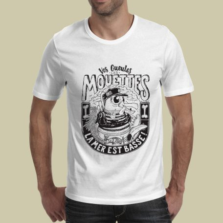 Tshirt sérigraphie illustration