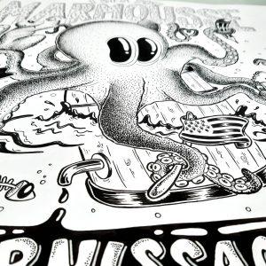 affiche illustration mar'mousse