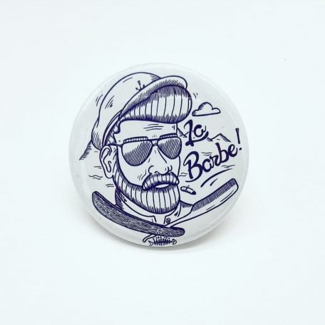 badge la barbe