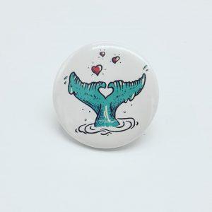 badge baleine